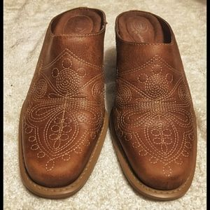 Dr. Scholl's Round Up Western Mule